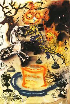 Alice's Adventures in Wonderland as interpreted by Salvador Dali, 1969
