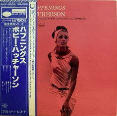BOBBY HUTCHERSON / HAPPENINGS / BLUE NOTE / SPIRITUAL JAZZ / KING JAPAN OBI
