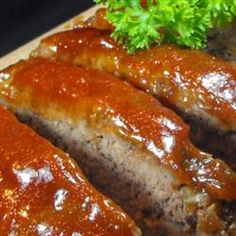 melt-in-your-mouth-meatloaf-I am not a big fan of meatloaf, but this recipe is the best and it really does melt in your mouth! DELICIOUS