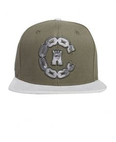 Crooks & Castles - Currency Chain C Snapback Cap - $30