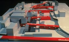 Bernard Tschumi - Lausanne - Bridge City - 1988
