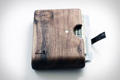uncrate:    Slim Timber Wood Wallets    Wood you want this in your pocket? Looks like a pain in the ash. Oak-ay, pine…I might take it to the beech. It could spruce up your look fir sure, even while it's resting in your palm.    Alright, I'm done. Acacia later, guys.