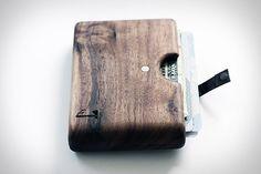 Wood Wallet #men gear