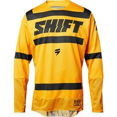 Shift 2018 3LACK Label Strike Yellow Jersey