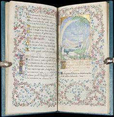 307: Gorgeous Illuminated Manuscript by Jessie Bayes : Lot 307