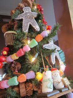 Kitchen Christmas Tree - Harris Sisters GirlTalk