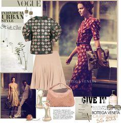 """Bottega Veneta Flower Theme"" by mariapia65 ❤ liked on Polyvore"