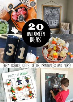 20+ Halloween Ideas