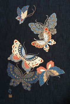 butterfly chinese painting historical -