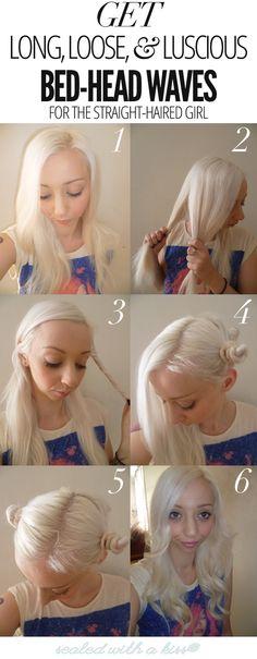 Una buena opción para no quemarse el cabello :)