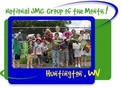 One of our JMG Groups out of Huntington, WV getting national attention after on of our Wildlife Gardener Day Camps!