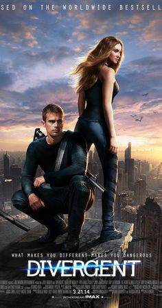 Directed by Neil Burger.  With Shailene Woodley, Theo James, Kate Winslet, Jai Courtney. In a world divided by factions based on virtues, Tris learns she's Divergent and won't fit in. When she discovers a plot to destroy Divergents, Tris and the mysterious Four must find out what makes Divergents dangerous before it's too late.
