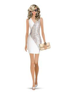 Charlerose-4 Stars. Styled with: Ivy Kirzhner, Erin Fetherston, Cashhimi, Isharya, Rebecca Minkoff, Ashley Pittman   Create your own look with Covet Fashion