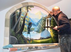 Our latest mural paintings.