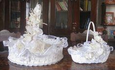 Canastas decoradas por Martha Rek Accesorios