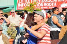 Dancing at the Little Italy FESTA! 2013 #LittleItalySD #FESTASD