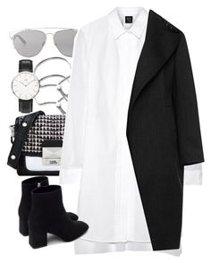 """""""Untitled #3873"""" by amyn99 on Polyvore featuring Monica Vinader, Christian Dior, Karl Lagerfeld, McQ by Alexander McQueen, Zara, Marni, Daniel Wellington, women's clothing, women and female"""