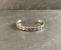 Native American Sterling Silver Cuff Bracelet Cuff Bracelet | Etsy