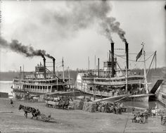 hi-res image of mississippi riverboat