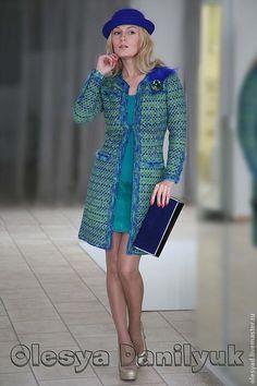 Пальто «Под знаком эпохи Шанель» - пальто шанель,пальто женское,Нарядное пальто