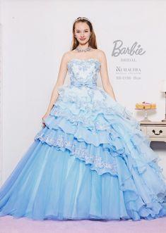 bb0196 | Barbie | cocktail|青森県三沢市のウエディングドレス・貸衣裳 | ブライダルサロンViVi