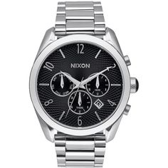 Nixon The Bullet Chrono Watch ($250) ❤ liked on Polyvore