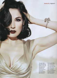 Dita Von Teese to Launch New Makeup Line with Art Deco Cosmetics