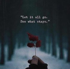 Let it all go see what stays. via (https://ift.tt/2HgpJTl)