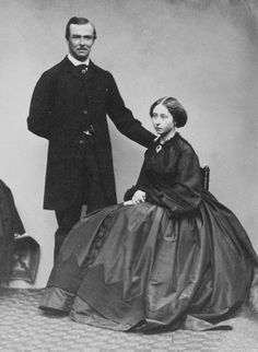 Princess Alice and Prince Louis of Hesse, December 13 1860