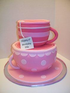 tea cup cake - Google Search