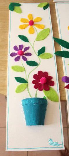 Kinderparty DIY Bastelideen - basteln mit Filz