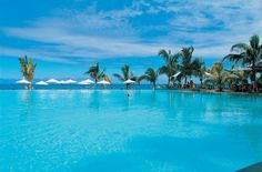Infinity pool - Le Victoria Mauritius