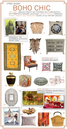 Boho Chic Style Guide