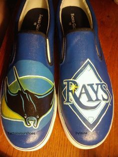 Awesome Tampa Bay Rays shoes!