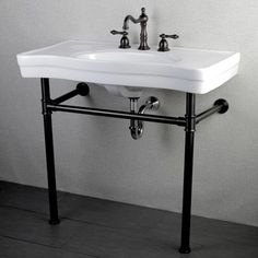 This Pedestal Style Imperial Vintage 36 Inch Bathroom Sink Vanity Is An  Elegant Addition