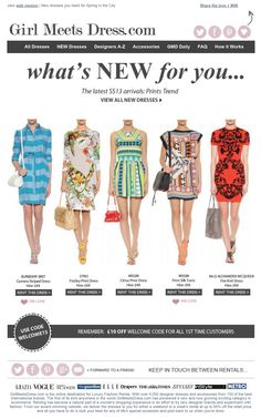 Girl Meets Dress's Newsletter