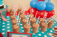 Snacks at a Dr. Seuss Party #drseuss #partysnacks