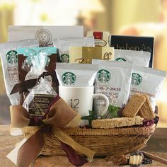 Starbucks Overload Gift Basket | All About Gifts & Baskets