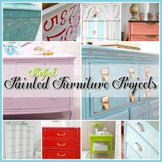 The Cottage Market: Perfect Painted Furniture Projects and DIY's