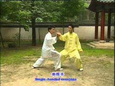 Tai Chi Chen Tui Shou Manos Pegajosas 2 - YouTube