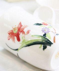 lotus bone china cup