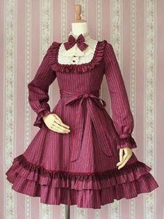 Victorian Maiden, Classical Doll Regimental Dress