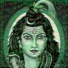 Rudra Shiva, Shiva Shakti, Lord Ganesha, Lord Shiva, Happy Birthday Husband Cards, Om Namah Shivay, Lord Murugan, Wheel Of Life, Shiva Art