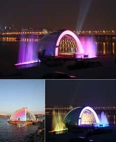 Magnificent Floating Stage Design