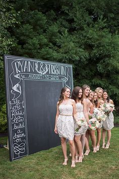 Fierce #bridesmaids from head to toe!!