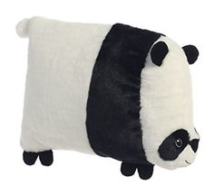 """""""Flattso"""" Square panda cushion by Aurora :) Available from www.pandathings.com"""