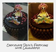 Chocolate Devil's Foodcake with Lalaloopsy