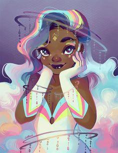 prinnay: Magical girl cover, sans words c: