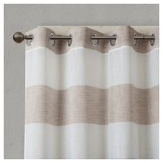 Elliot Yarn Dyed Woven Sheer Window Curtain Panel : Target