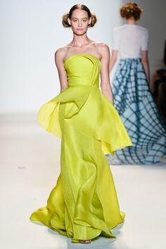 La robe néon Lela Rose